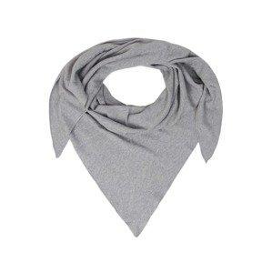 Zwillingsherz Látková rouška  šedý melír