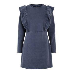 PIECES Šaty  modrá
