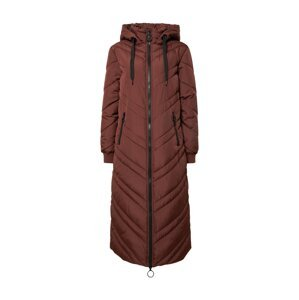 JDY Zimní kabát 'SKY'  tmavě hnědá