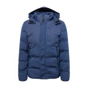 BLEND Zimní bunda  námořnická modř