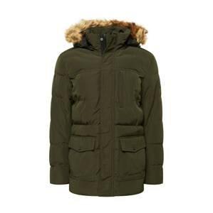 INDICODE Zimní bunda  olivová