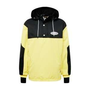 Volcom Outdoorová bunda 'LONGO'  limone / černá