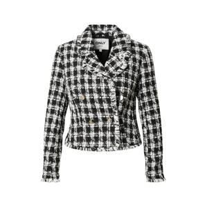 ONLY Přechodná bunda 'ANTONIA'  černá / bílá