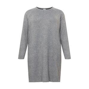 Vila Curve Úpletové šaty 'HAILEY'  šedá