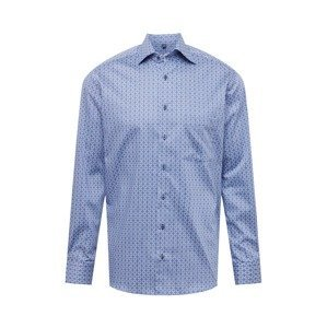 ETERNA Košile  modrá / světlemodrá / bílá
