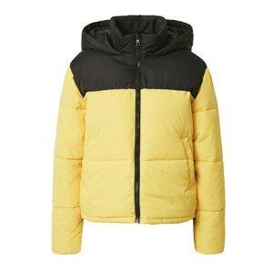 ONLY Přechodná bunda 'SANDRA'  černá / žlutá
