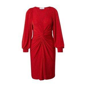 Closet London Koktejlové šaty  světle červená