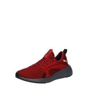 PUMA Běžecká obuv  tmavě červená