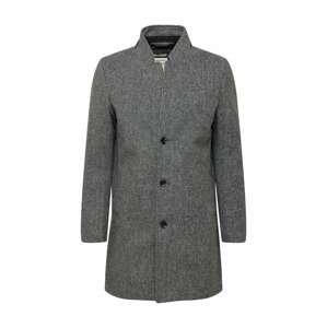 TOM TAILOR DENIM Přechodný kabát  šedý melír