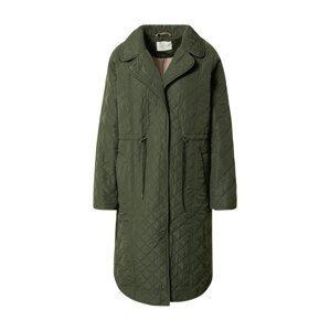 rosemunde Přechodný kabát  tmavě zelená