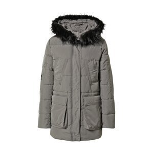 JDY Zimní bunda 'DAWSON'  šedá / černá