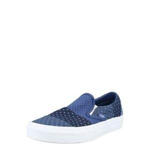 VANS Slip on boty  modrá / tmavě modrá / bílá