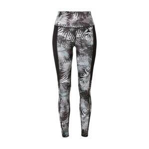 Superdry Snow Sportovní kalhoty  černá / šedá / bílá