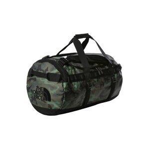 THE NORTH FACE Sportovní taška 'BASE CAMP'  tmavě zelená / khaki / černá / šedá