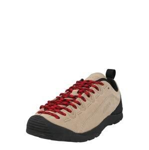 KEEN Sportovní boty 'JASPER'  velbloudí / černá / červená