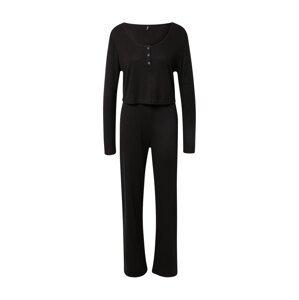 ONLY Pyžamo 'Olivia'  černá