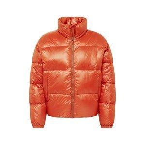 Abercrombie & Fitch Přechodná bunda  tmavě oranžová