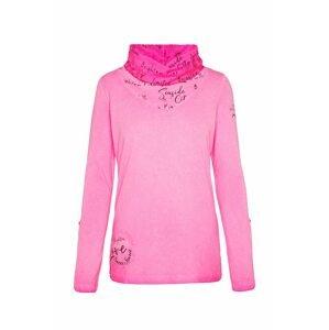 Soccx Tričko  pink / černá