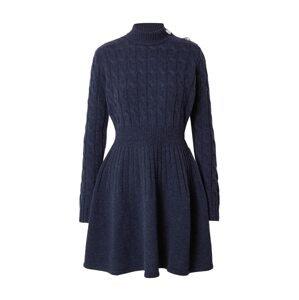 MAX&Co. Úpletové šaty 'Scenico'  modrá