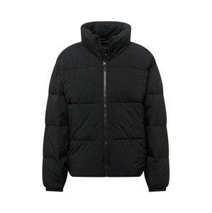 Abercrombie & Fitch Přechodná bunda  černá