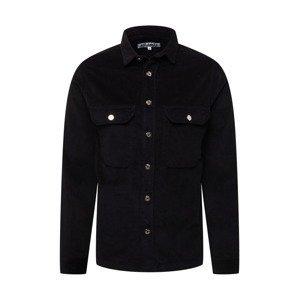 JUST JUNKIES Košile 'Hagdi'  černá