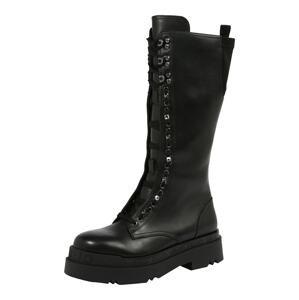 Liu Jo Šněrovací boty  černá
