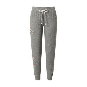 PJ Salvage Kalhoty  šedá / mix barev