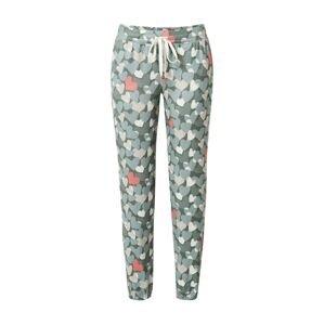 PJ Salvage Kalhoty  khaki / růžová / béžová / bílá / pastelově zelená