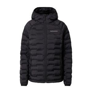 PEAK PERFORMANCE Outdoorová bunda 'Argon'  černá / bílá