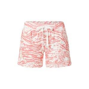 PJ Salvage Pyžamové kalhoty  offwhite / světle růžová