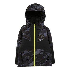ZIENER Sportovní bunda ''Antax'  černá / šedá