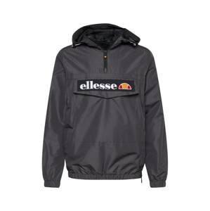 ELLESSE Přechodná bunda 'Mont 2'  antracitová / černá / bílá / červená / oranžová