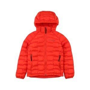 PEAK PERFORMANCE Outdoorová bunda  oranžově červená / černá