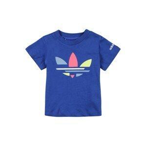 ADIDAS ORIGINALS Tričko  modrá / opálová / světle růžová / kiwi / bílá