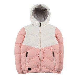 ICEPEAK Outdoorová bunda 'KOLOA'  růžová / bílá