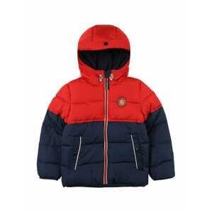 GARCIA Zimní bunda  ohnivá červená / námořnická modř