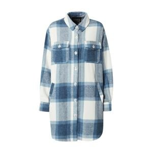 River Island Přechodná bunda  modrá / bílá