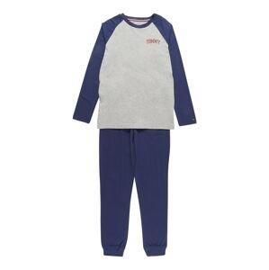 Tommy Hilfiger Underwear Pyžamo  námořnická modř / šedá / korálová