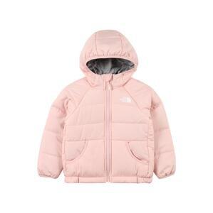 THE NORTH FACE Outdoorová bunda  růžová / bílá / stříbrně šedá