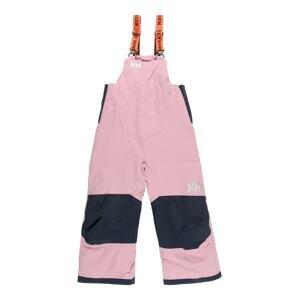 HELLY HANSEN Sportovní kalhoty 'RIDER 2'  starorůžová / námořnická modř