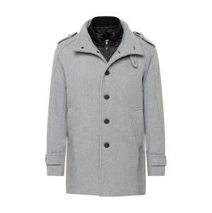 SELECTED HOMME Přechodný kabát  šedý melír