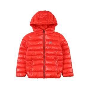 4F Sportovní bunda  červená