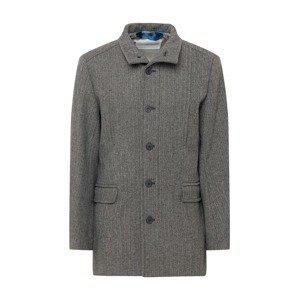 SELECTED HOMME Přechodný kabát  černá / bílá