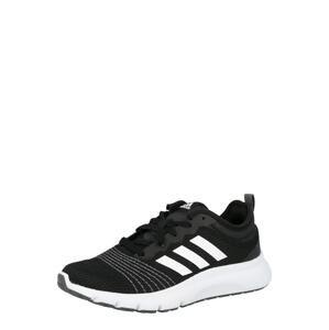 ADIDAS PERFORMANCE Běžecká obuv 'FLEX 2'  černá / bílá