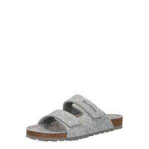 Marc O'Polo Pantofle 'Bella'  šedá