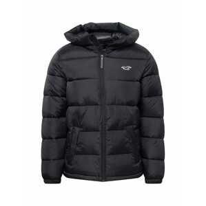 HOLLISTER Zimní bunda  černá