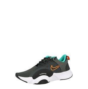 NIKE Sportovní boty  tmavě šedá
