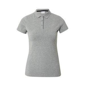 4F Tričko  šedý melír