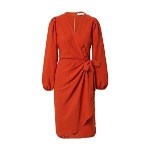 Closet London Koktejlové šaty  rezavě hnědá