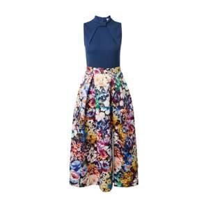 Closet London Koktejlové šaty  námořnická modř / mix barev